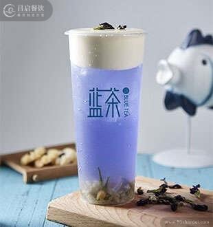 花屿之蓝-蓝茶海藻茶加盟