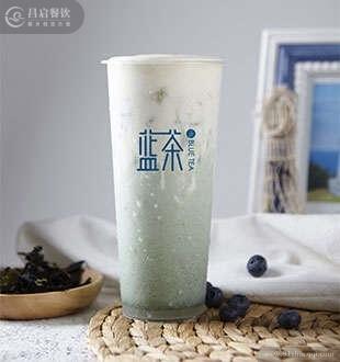 醇奶鲜藻茶-蓝茶海藻养生茶加盟