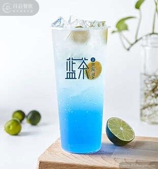 蓝柑气泡苏打-蓝茶茶饮加盟