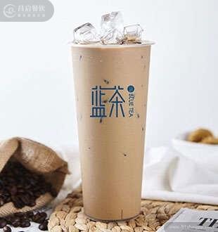 招牌冰咖啡-蓝茶海藻糖加盟