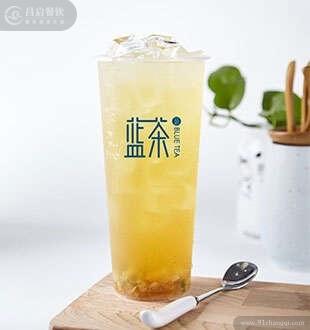 茉莉冻柚-蓝茶高山茶加盟