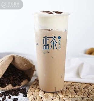 炭烧奶盖咖啡-蓝茶海藻糖加盟