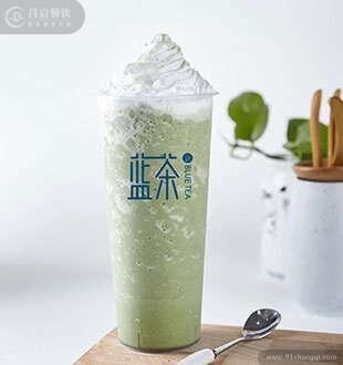 抹茶星冰乐-蓝茶海藻茶加盟