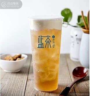 樱花乌龙奶盖_蓝茶茶饮
