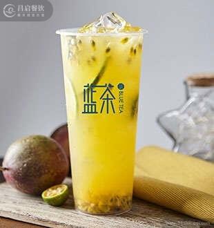 满杯百香果_蓝茶茶饮