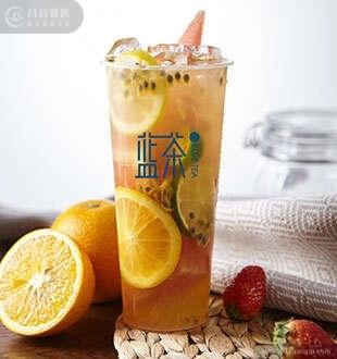 缤纷水果茶_蓝茶茶饮