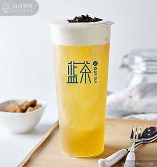 奥利奥奶盖_蓝茶茶饮