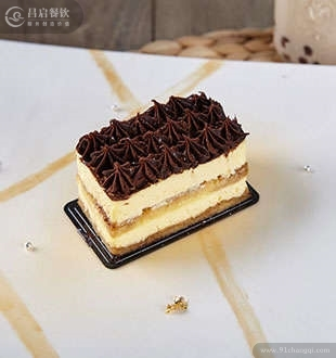 提拉米苏蛋糕-蓝茶茶饮加盟