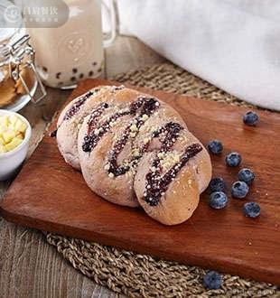 蓝莓乳酪软欧-蓝茶茶饮加盟