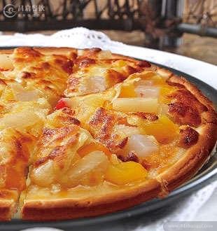四季春水果披萨_拾佳客酥披萨