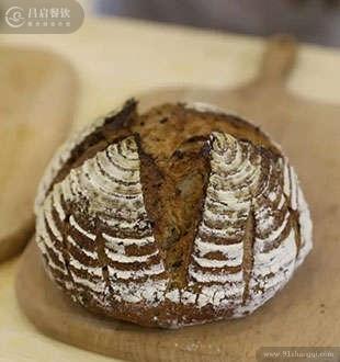 裸麦欧包-法爵法式面包加盟