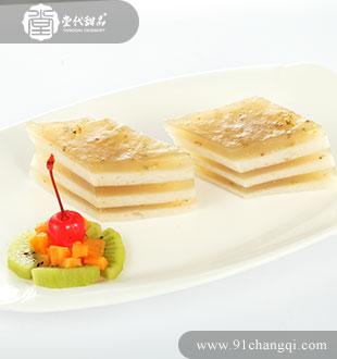 千层马蹄糕23_堂代甜品