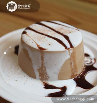巧克力布丁_堂代甜品