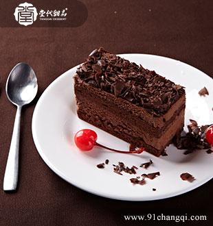 巧克力慕斯_堂代甜品