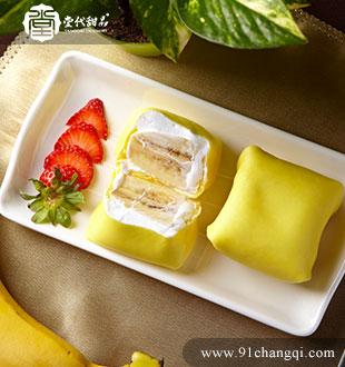 香蕉班戟_堂代甜品