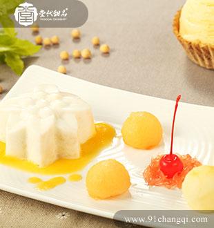 椰汁马豆糕1_堂代甜品