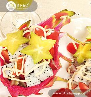 火龙果沙拉_堂代甜品