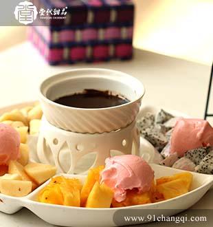 巧克力火锅_堂代甜品