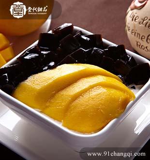芒果凉粉_堂代甜品