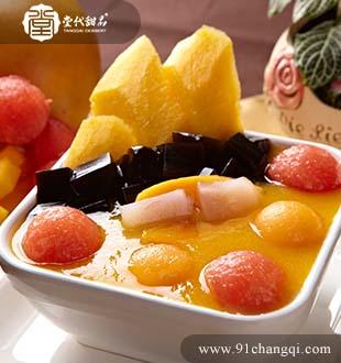 鲜果凉粉_堂代甜品