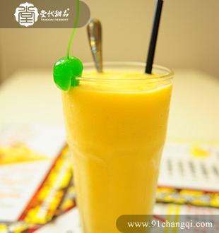 芒果奶昔1 _堂代甜品