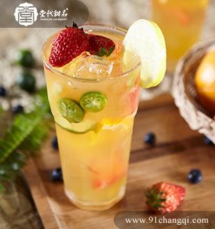 夏日缤纷果茶 _堂代甜品