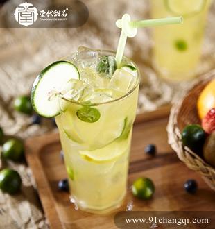 鲜金桔柠檬茶 _堂代甜品