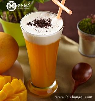 芒果奶盖 _堂代甜品