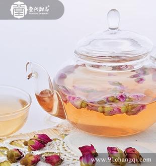 玫瑰柚子茶 _堂代甜品