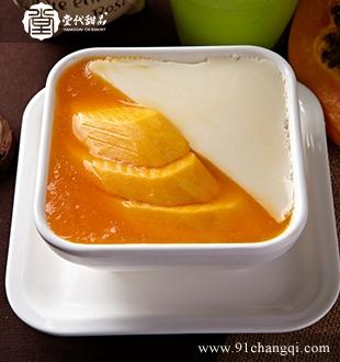 芒果豆花_堂代甜品