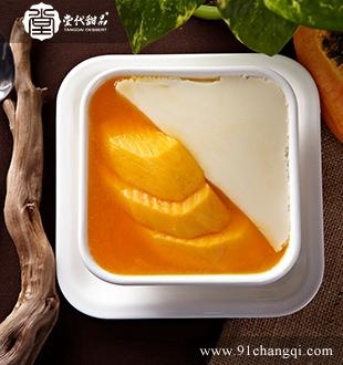 木瓜豆腐花_堂代甜品
