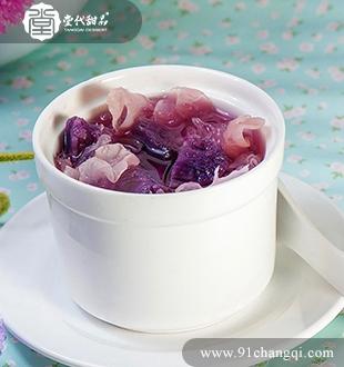 银耳紫薯_堂代甜品