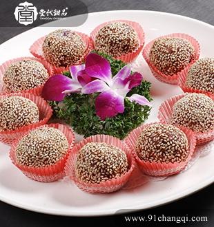 紫薯球_堂代甜品