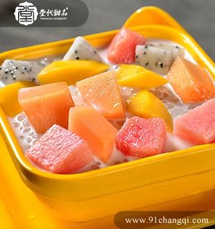 芒果西瓜西米露_堂代甜品