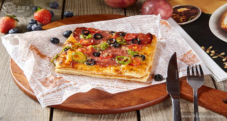 拾佳客酥披萨产品图