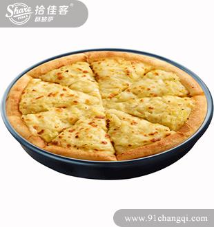 黄金榴莲披萨-拾佳客欧式披萨加盟