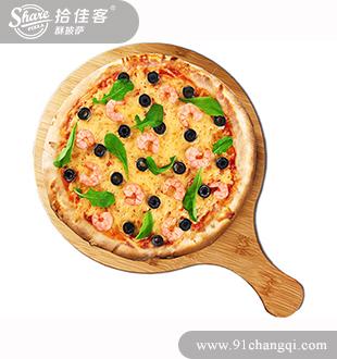 鲜虾披萨-拾佳客披萨汉堡加盟官网