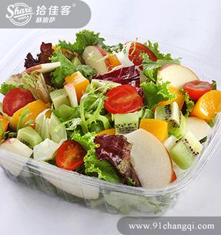 什锦蔬果沙拉_拾佳客酥披萨