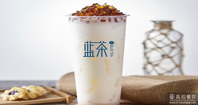 Bluetea蓝茶:广州汉堡奶茶加盟还有市场吗