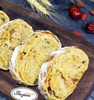 红枣枸杞软欧包-法爵法式烘焙加盟