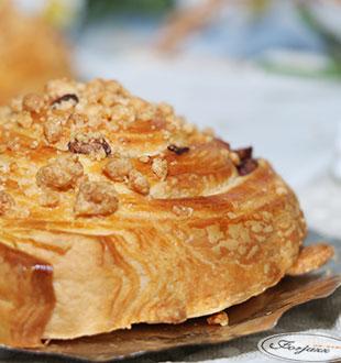 丹麦红豆卷-法爵法式面包加盟