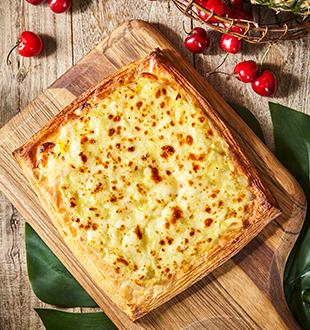 黄金榴莲酥披萨