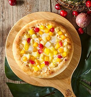 热带水果披萨-拾佳客九块九披萨加盟